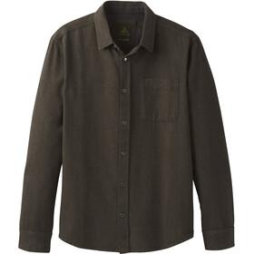 Prana Woodman Flannel Shirt Herren slate green